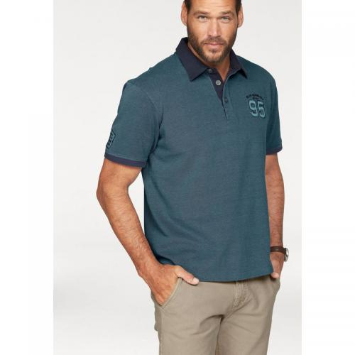 Man's World - Polo maille piquée manches courtes Mans'World homme - Bleu - Polos homme