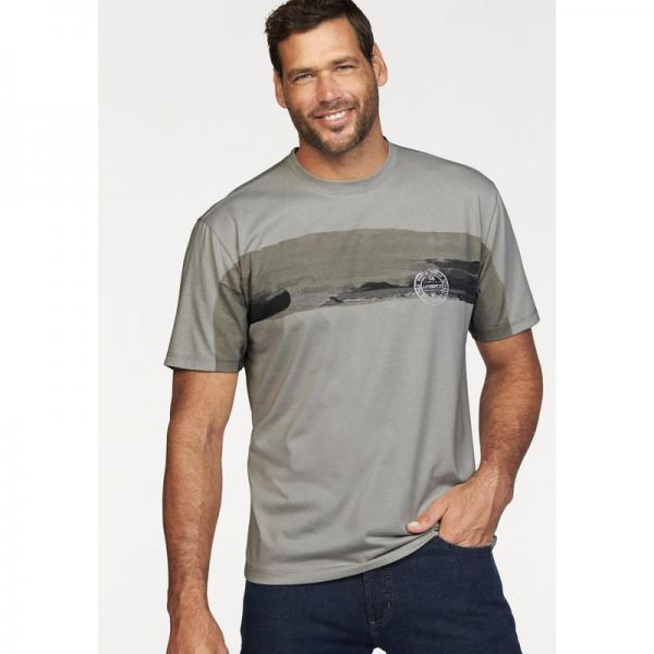 Tee-shirt manches courtes homme Man's World - Gris Man's World Homme