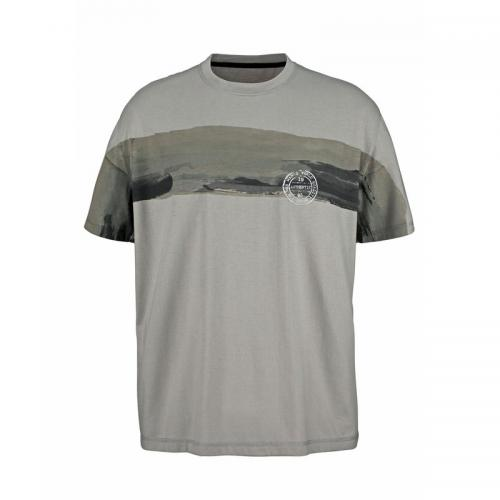 Tee-shirt manches courtes homme Man's World - Gris Man's World