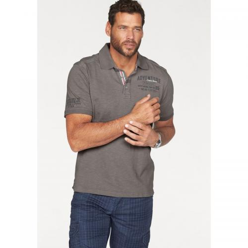 Man's World - Polo manches courtes homme Man's World - Gris - Vêtements homme