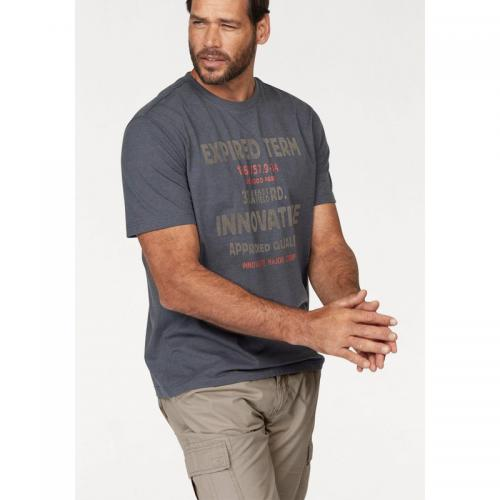 Man's World - Tee-shirt homme Man's World - Marine Moucheté - T-shirt / Polo