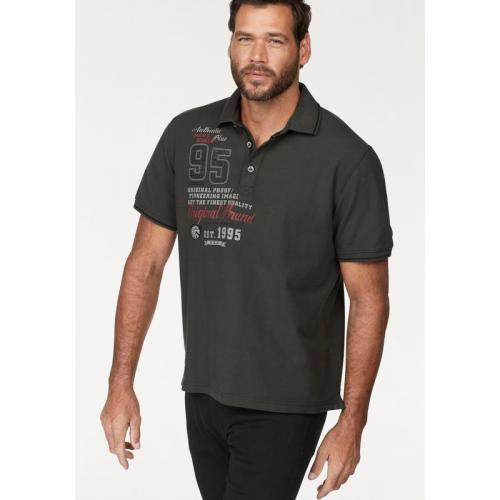 Man's World - Polo manches courtes Man's World - gris foncé - T-shirt / Polo