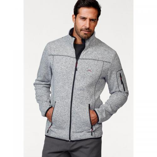 Man's World - Veste polaire Man's World homme - Gris Clair Chiné - Promos vêtements homme