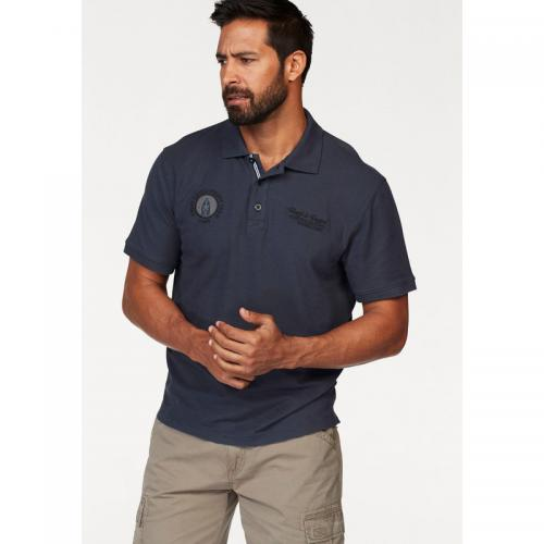 Man's World - Polo uni manches courtes homme Man's World - Gris - Promos vêtements homme