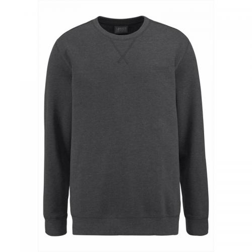 Pull col rond homme Man's World - Gris Man's World