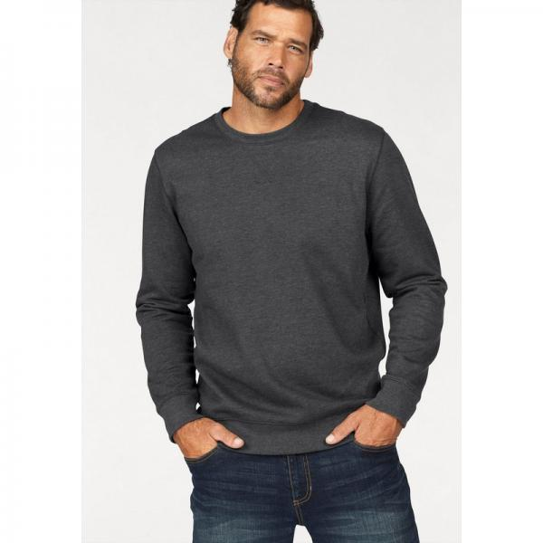 Pull col rond homme Man's World - Gris Man's World Homme