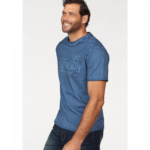 Man's World - T-shirt homme Arizona - Bleu - T-shirt / Polo Imprimé