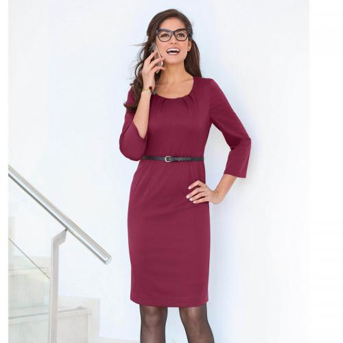 3 SUISSES - Robe courte femme - Rouge - Robe