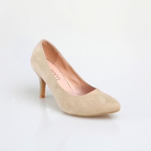 6a6131113818b8 3 SUISSES - Escarpins à talons femme - Sable - Chaussures femme