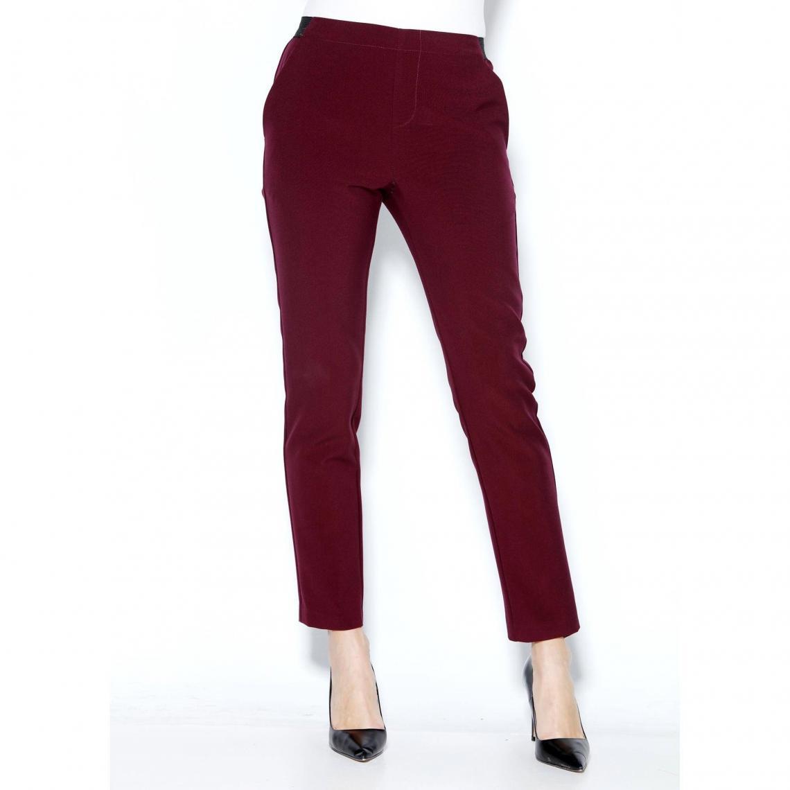 Pantalon 3suisses Exclusivité Taille Femme Et Élastique Dos Pinces T17xqpTS