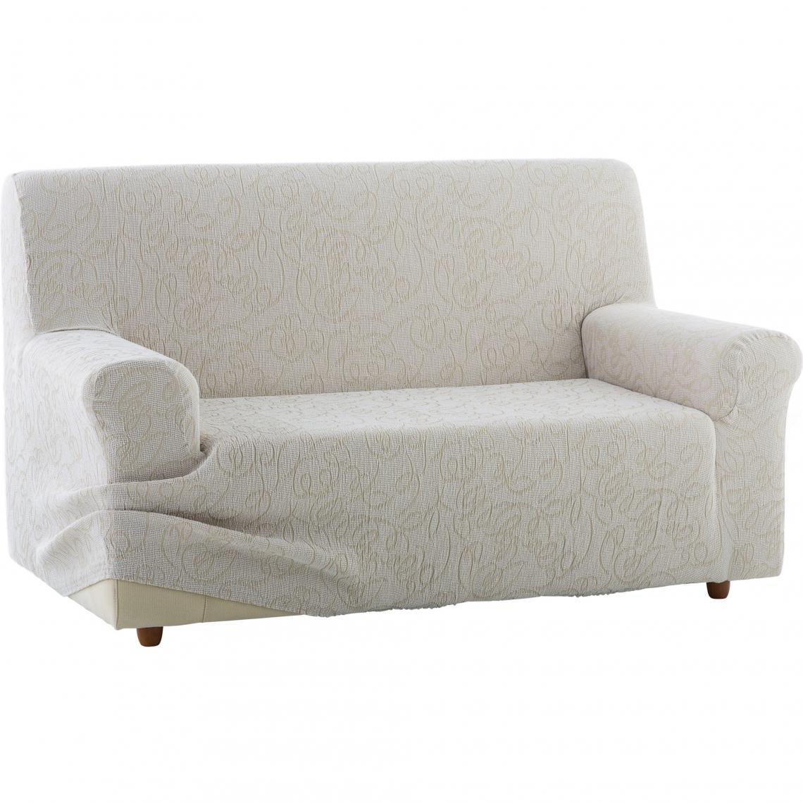 housse bi extensible int grale pour canap 2 places. Black Bedroom Furniture Sets. Home Design Ideas