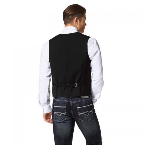 3 SUISSES - Gilet de costume homme Bruno Banani - Noir - Costumes homme de1a22b6ccf