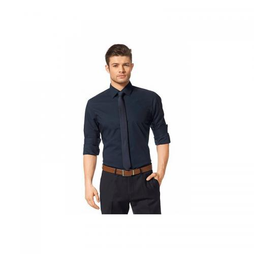 Chemise manches longues homme Bruno Banani - Bleu