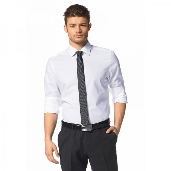 Chemise manches longues homme Bruno Banani - Blanc 3 Suisses Homme
