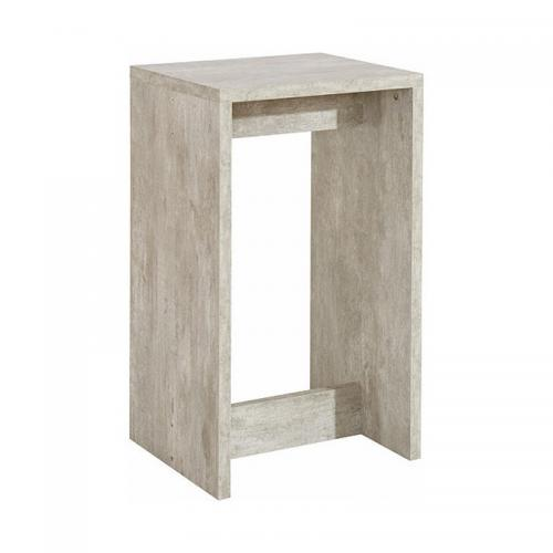3 SUISSES - Tabouret de bar - Gris - Salon