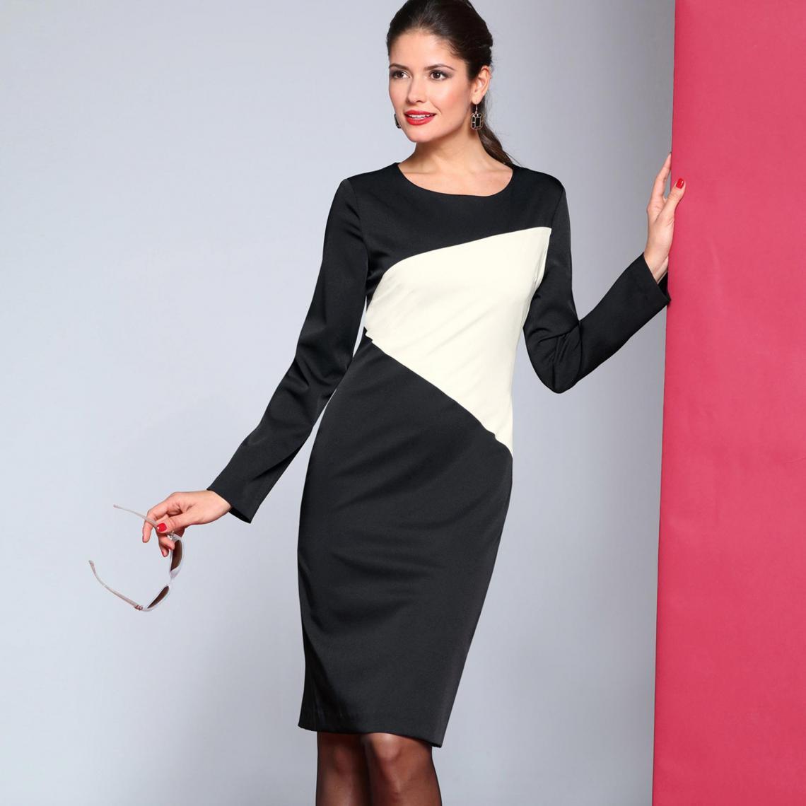 Robe habillée courte femme - LOT - 3 SUISSES - Modalova