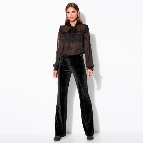 bd9fbba2d028e 3 Suisses - Pantalon Exclusivité 3SUISSES - Noir - Vêtements femme