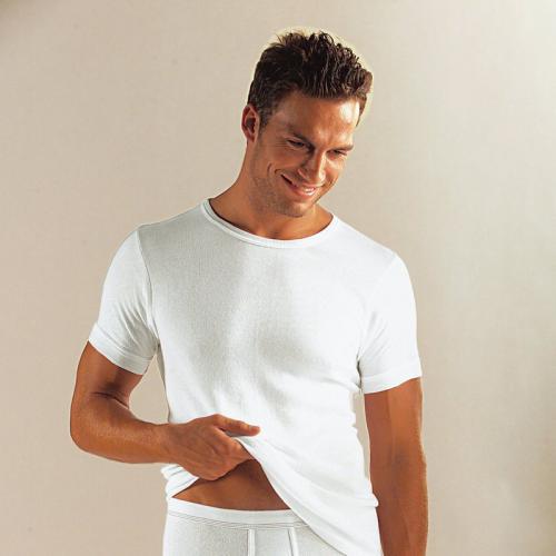 lot de 3 t shirts unis en coton homme clipper blanc 3. Black Bedroom Furniture Sets. Home Design Ideas