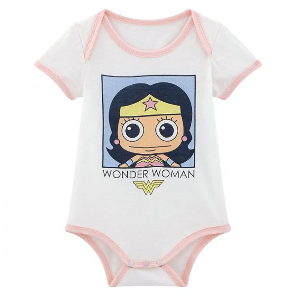 Body Wonder Woman bébé - Blanc 3 SUISSES Enfant