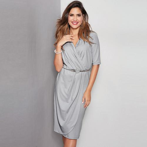 3 SUISSES - Robe - Gris - Robes femme