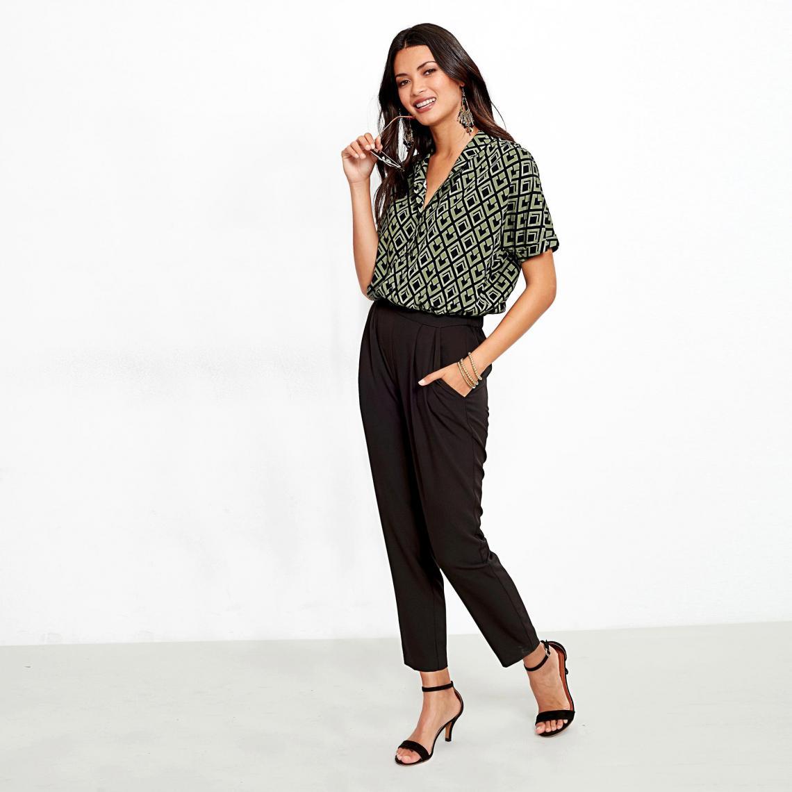 acheter en ligne fe4cd f729f Combinaison femme - Vert | 3 SUISSES