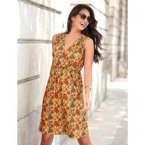3 Suisses - Robe courte femme Exclusivité 3SUISSES - Imprimé - Robes femme e7eed9c0c4f8