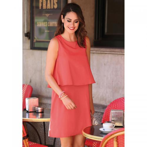 3 SUISSES - Robe courte femme - Orange