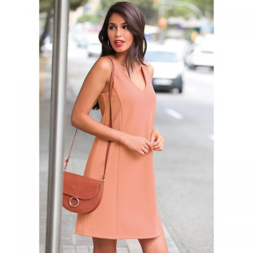 3 SUISSES - Robe courte femme - Orange - Robe