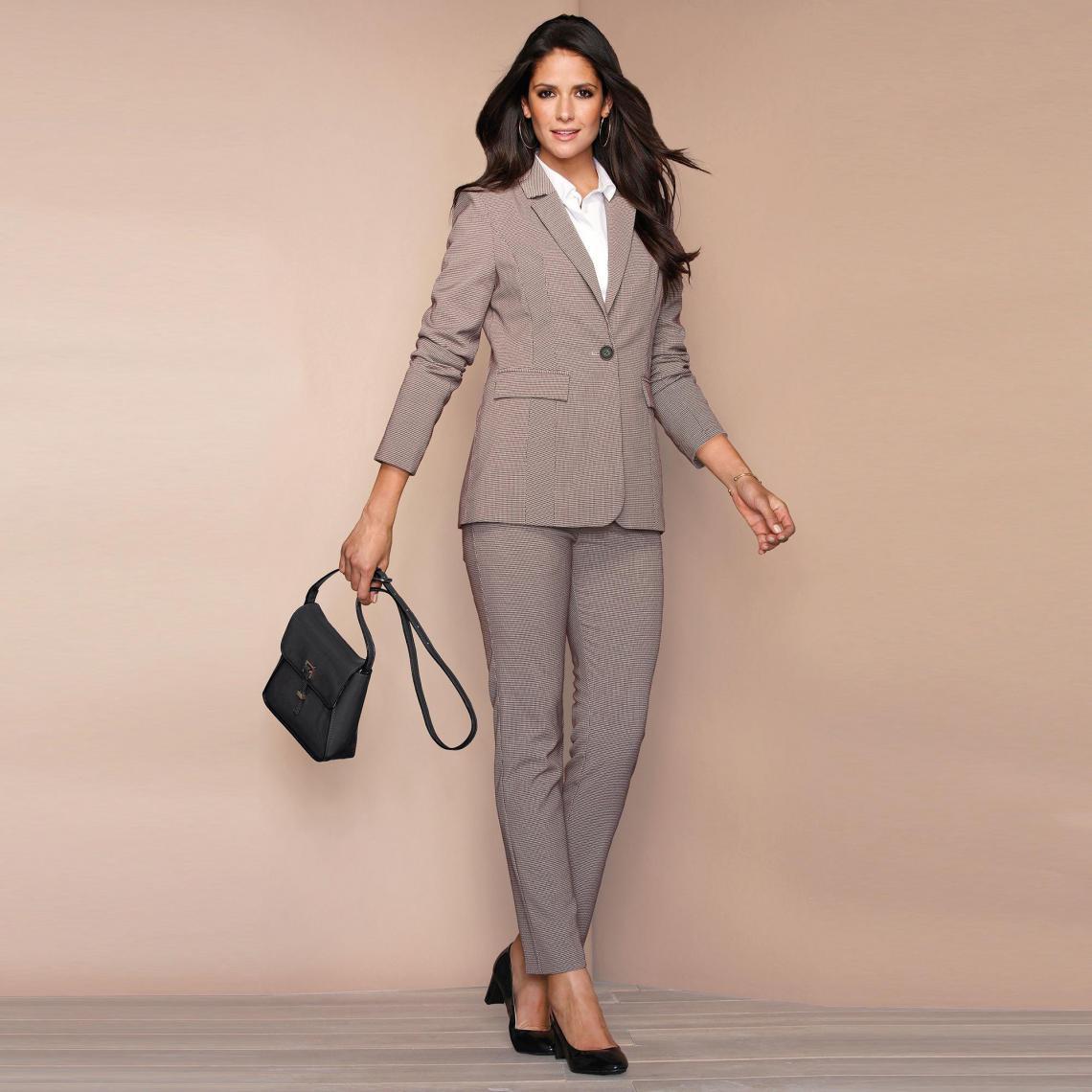 Pantalon imprimé taille élastique dos - Rouge - 3 SUISSES - Modalova