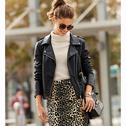 bcf072597921 3 SUISSES - Perfecto coudes matelassés zip en diagonale femme - Noir - Doudounes  femme