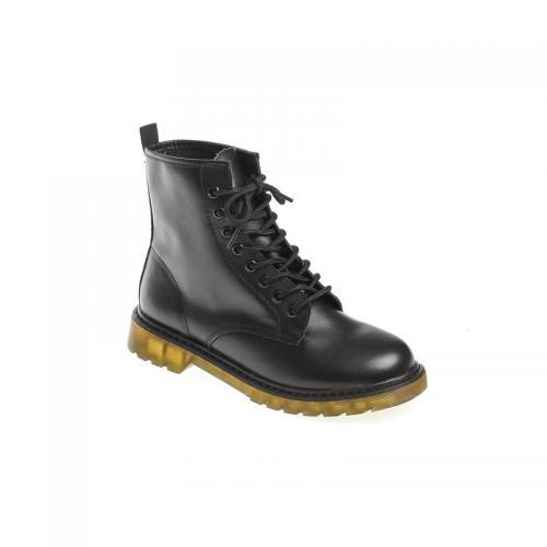 adae949516e21 3 Suisses - Bottines à lacets femme Exclusivité 3SUISSES - Noir -  Chaussures femme