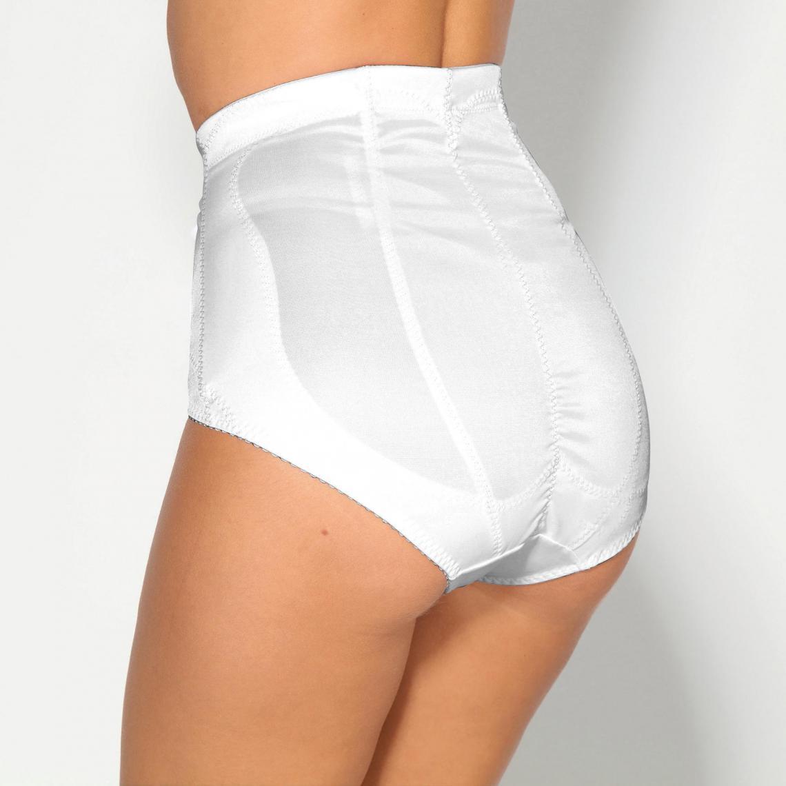 Gaine haute effet ventre plat femme Exclusivité 3SUISSES - Blanc  d5b36074dca