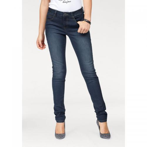 7a799b4cb71 3 SUISSES - Jean slim-fit taille haute femme Arizona - bleu foncé - Jeans