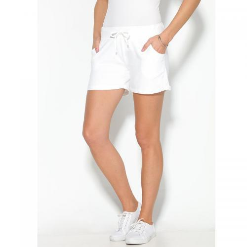3 SUISSES - Short femme Exclusivité 3SUISSES - Blanc - Promos vêtements  femme ca8eba96fed