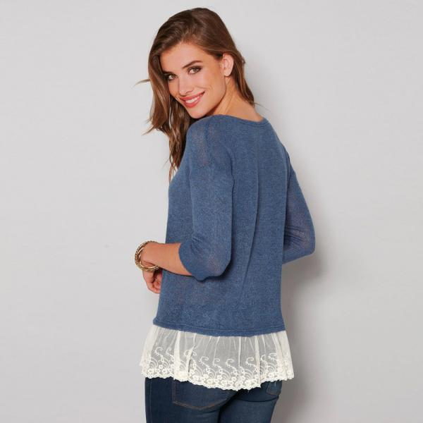 Pulls col rond femme 3 SUISSES
