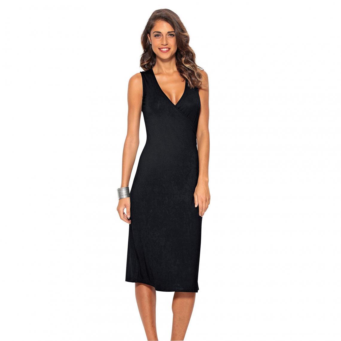 3suisses Mi Longue Femme Suisses Noir Robe Exclusivité 3 zxwzq