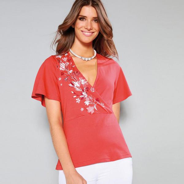 Femmes Tops manches courtes femme T Shirt Top Divers Imprime UK 8 10 12 14 16
