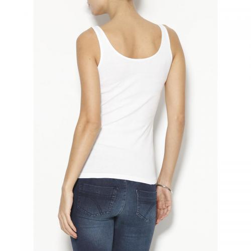 3 Suisses - Tee-shirt à bretelles col rond à pressions femme Exclusivité  3SUISSES - 1638f7c2e7d4