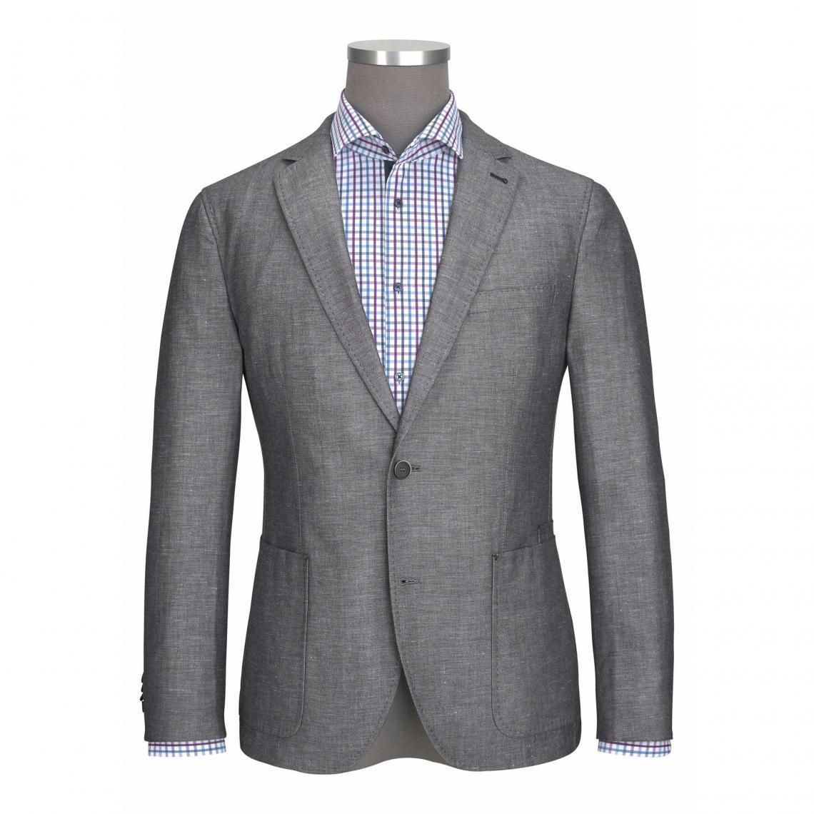 Veste de costume homme Class International - Gris Clair 3 SUISSES 10799781d4b
