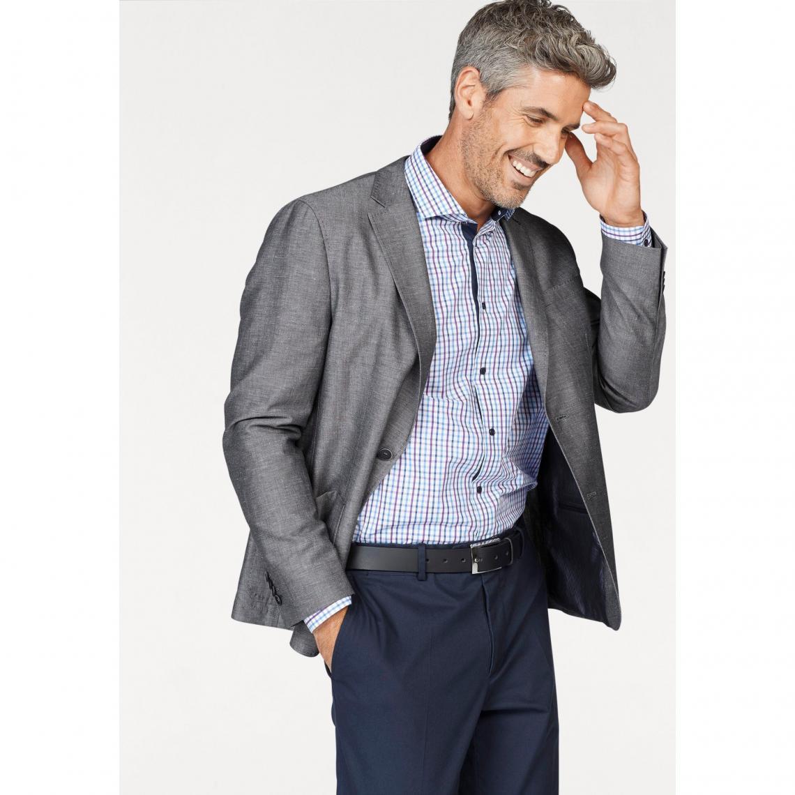 Veste de costume homme Class International - Gris Clair 3 SUISSES Homme e09253d1c91