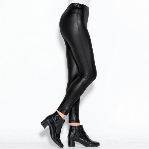 Élastique Élastique Femme Brillant Femme Noir Brillant Legging Legging tshrdCQx
