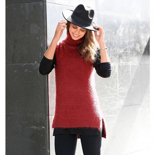 3 SUISSES - Pull - Rouge - Pull, Gilet femme