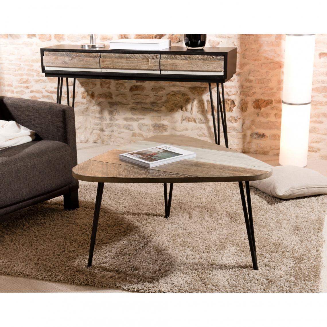 Table Basse Goutte D Eau Pieds épingle Grand Modèle Style