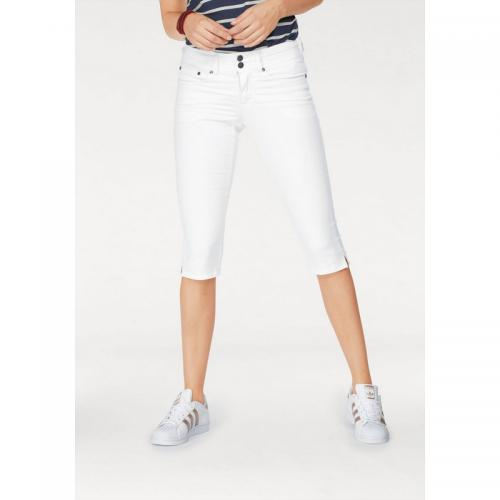 3 SUISSES - Pantacourt denim femme AJC - Blanc - Jean et denim