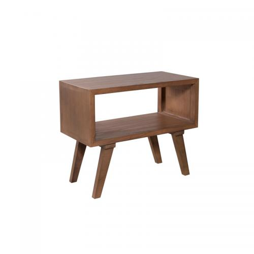 MACABANE - Chevet 50 cm style scandinave - Cannelle - Table de chevet