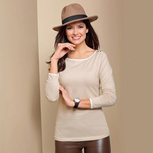 3 SUISSES - T-shirt - Beige