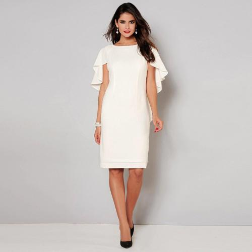 3 SUISSES - Robe Exclusivité 3SUISSES - Blanc - Robes de soirée, cocktail femme