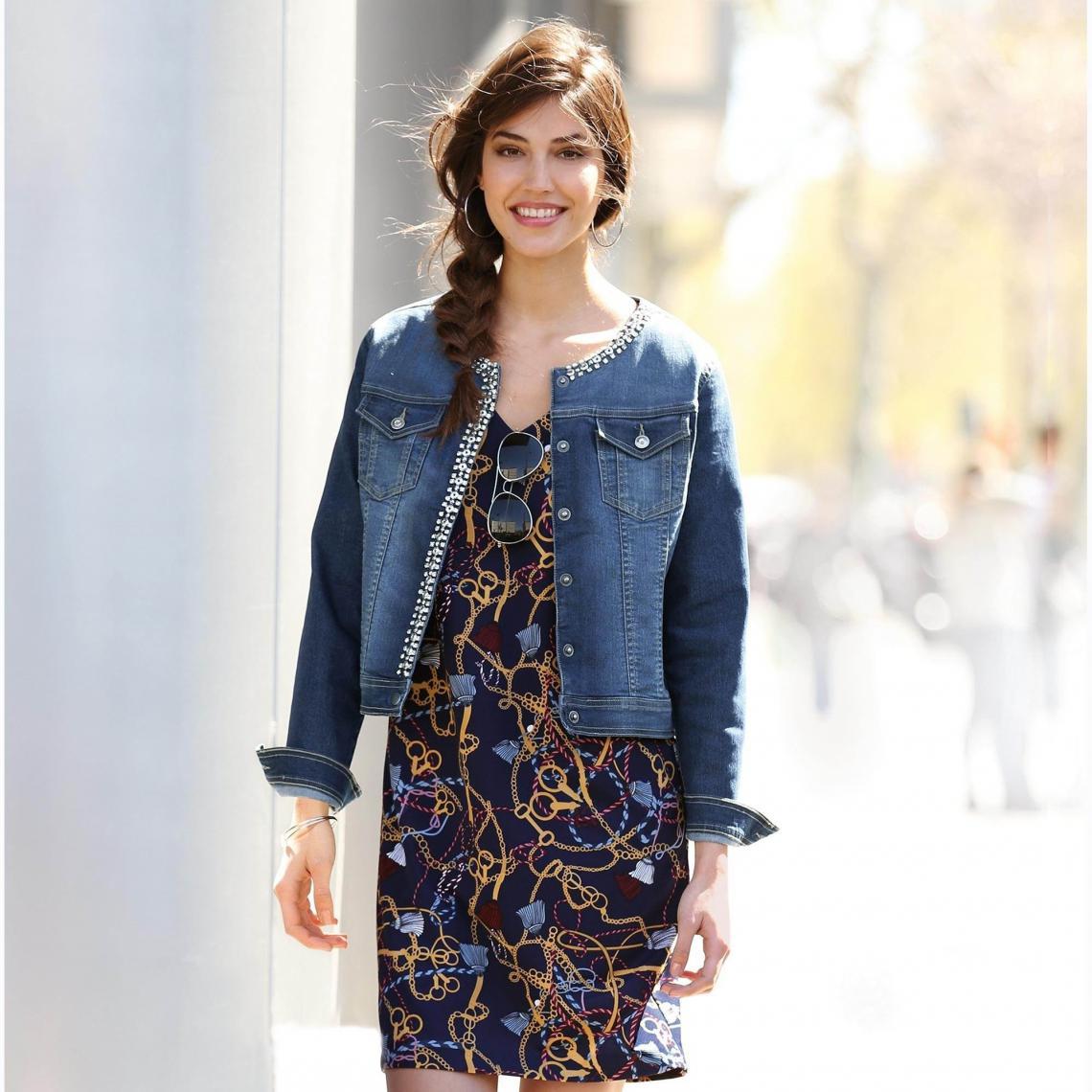 Vestes en jean Femme | 3 SUISSES