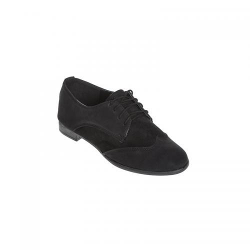 3 Suisses - Chaussures à lancets femme Exclusivité 3SUISSES - Noir -  Derbies femme f67f2baefb43