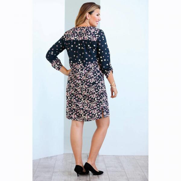 Robes grande taille 3 Suisses